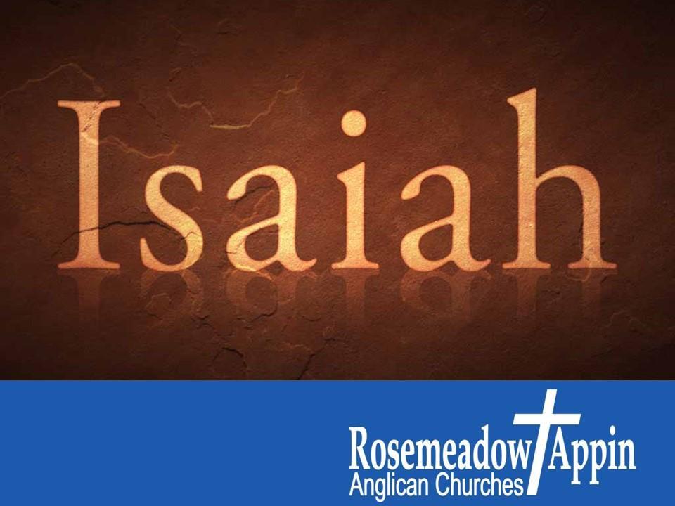 Isaiah 9:8 – 12:6