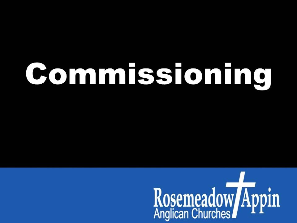 Romans 5:6-8 Commissioning