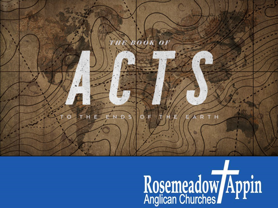 Acts 8:26 – 40